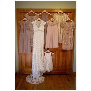 Kenneth Winston Dresses - Lace Wedding Dress 10 Mermaid Kenneth Winston 1584
